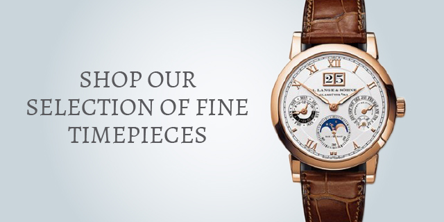 Shop our selection of fine timepieces.