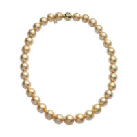 Mikimoto Golden South Sea Pearl Strand