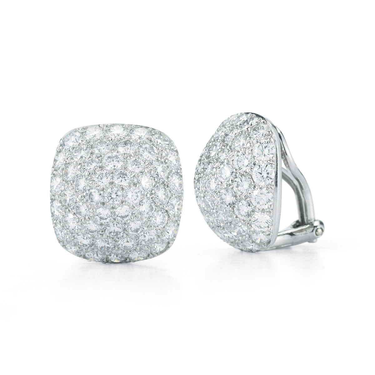Oscar Heyman Brothers Diamond Earrings