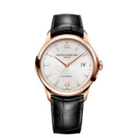 Baume et Mercier Clifton Automatic in Rose Gold Case Back 10058