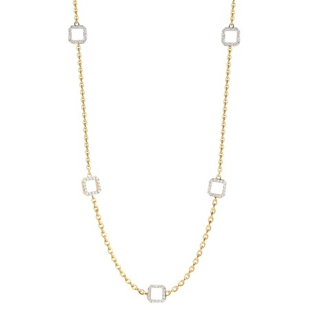 Ivanka Trump Metropolis Cube Link Necklace on oscar heyman diamond rings