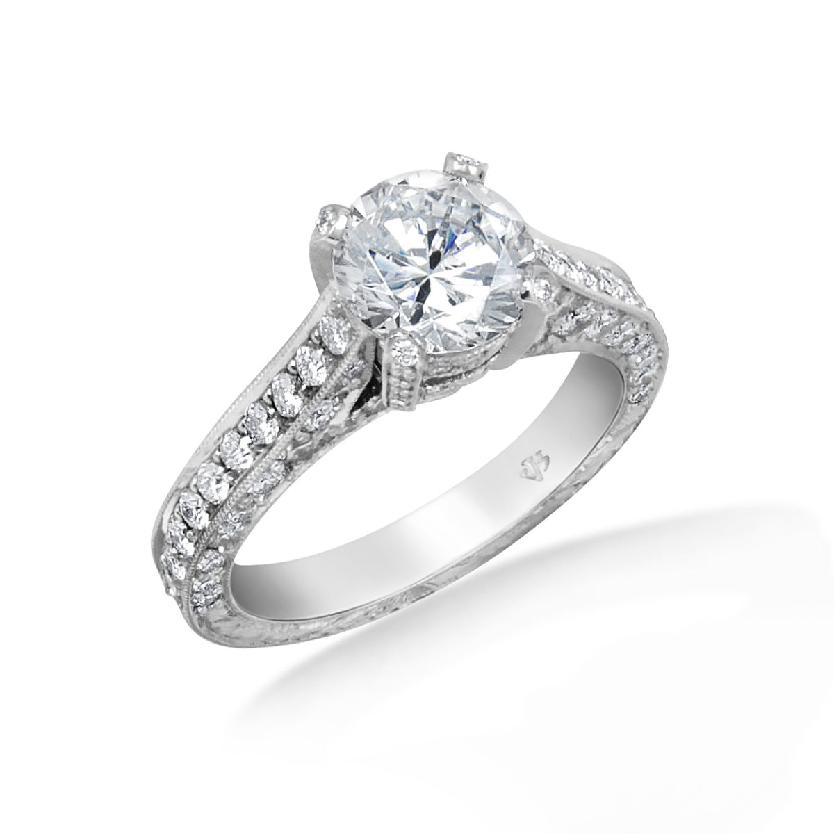 Jack Kelege Cathedral Engagement Ring – Kpr289