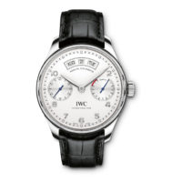 IWC Portuguese Annual Calednar Stainless Steel IW503501 Dial