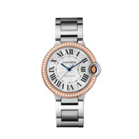 Cartier Ballon Bleu 36mm Pink Gold & Steel - WE902081