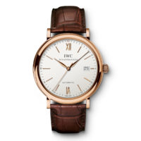 IW356504 IWC Portofino Automatic Rose Gold Brown Strap