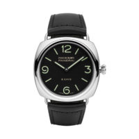 Panerai Radiomir PAM00610 8 Days Steel 45mm Black Dial View Black Seal