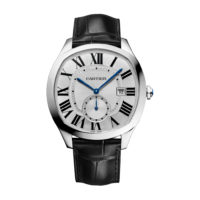 Drive de Cartier in Steel – Men's Watch – WSNM0004 Marshall Pierce & Company Chicago Authorized Dealer