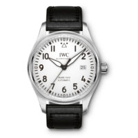 IWC Pilots Watch Mark XViii 18 Automatic Silver Dial Black Strap IW327002
