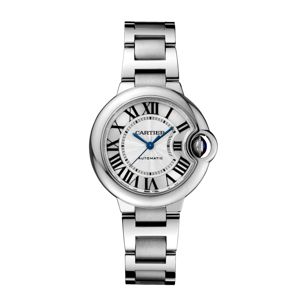Ballon Bleu de Cartier in Steel – 33mm – Ladies Watch – W6920071 Marshall Pierce & Company Chicago Authorized Dealer