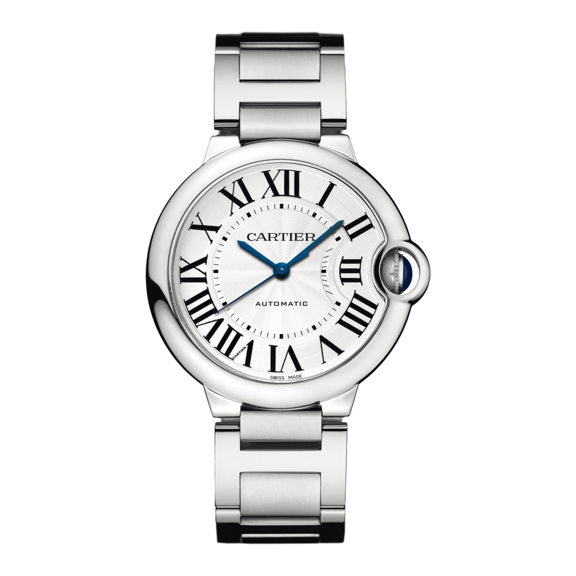 6792914ef6b3 Ballon Bleu de Cartier in Steel – 36mm – Ladies Watch – W6920046 Marshall  Pierce