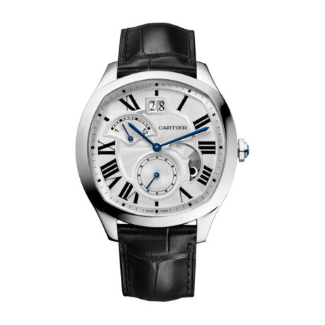 Drive de Cartier Retrograde GMT in Steel - Men's Watch - WSNM0005 Marshall Pierce & Company Chicago Authorized Dealer
