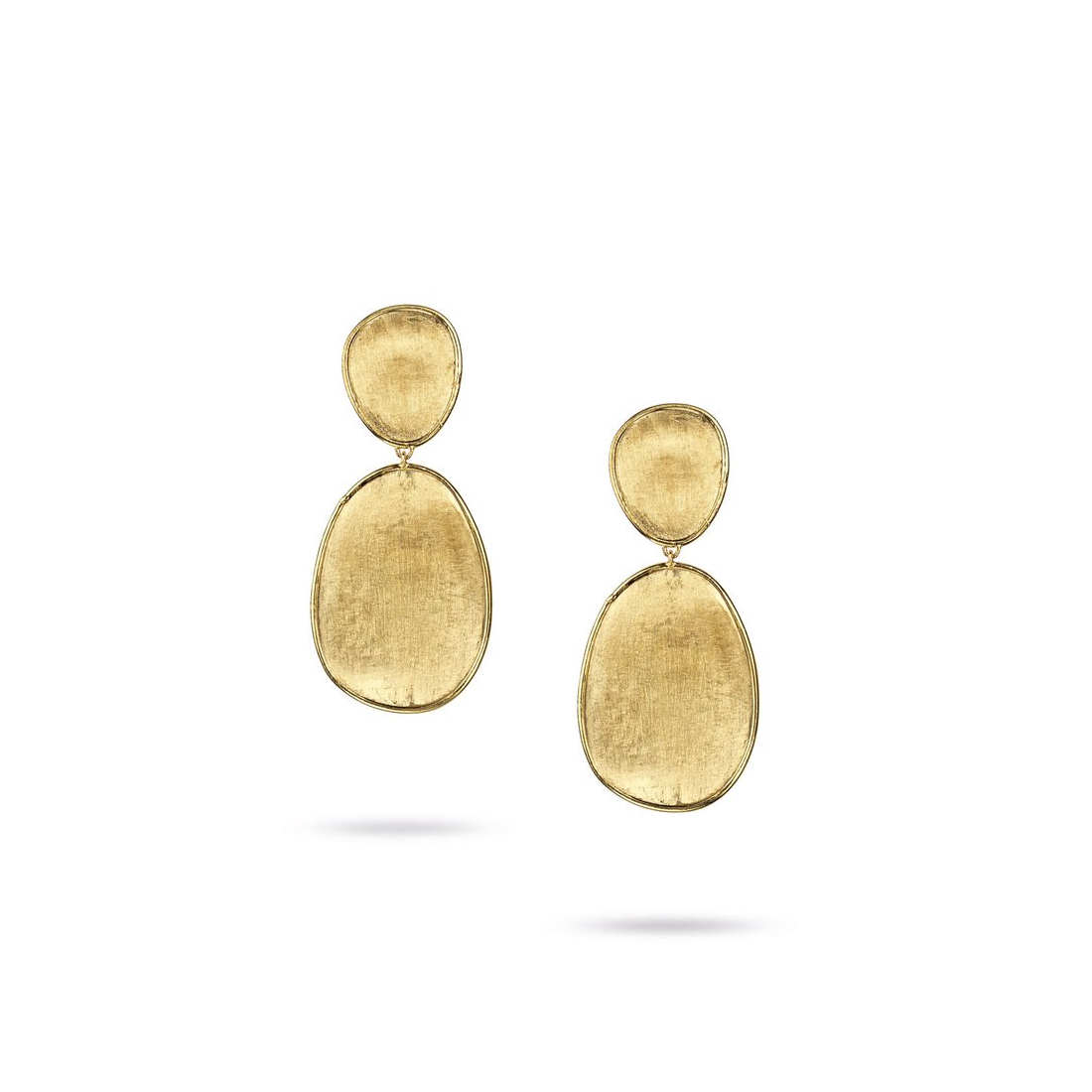 Lunaria Double Drop Earrings OB1345Y02 Marco Bicego Marshall Pierce & Company Chicago