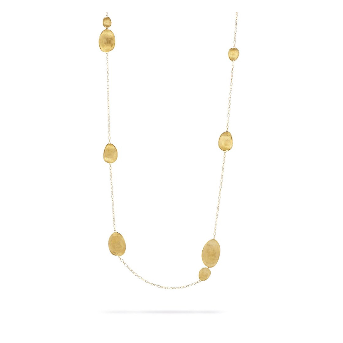 Lunaria Long Gold Necklace CB1791Y02 36 Inches by Marco Bicego Marshall Pierce & Company