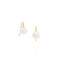 Marco Bicego Africa Pearl Earrings Yellow Gold Marshall Pierce & Company Chicago