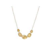 Marco Bicego Lunaria Graduated Link Necklace CB1779Y02 Marshall Pierce & Company Chicago
