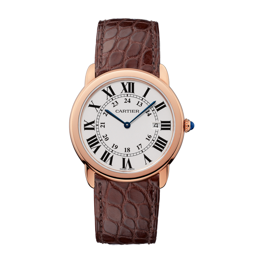 Ronde Solo de Cartier in Pink Gold – 36mm – Men's Watch – W6701008 Marshall Pierce & Company Chicago Authorized Dealer