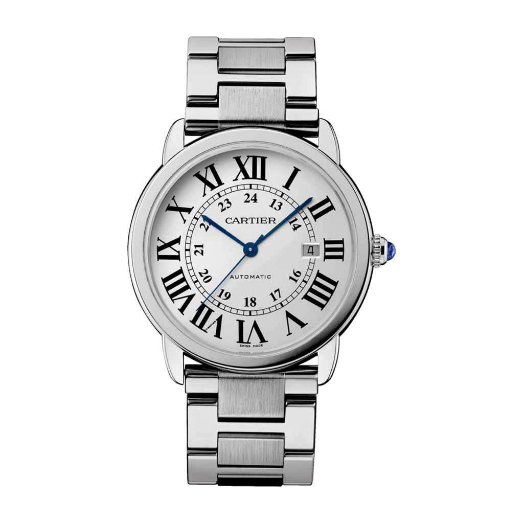Ronde Solo de Cartier in Steel – 42mm – Men's Watch – W6701011 Marshall Pierce & Company Chicago Authorized Dealer