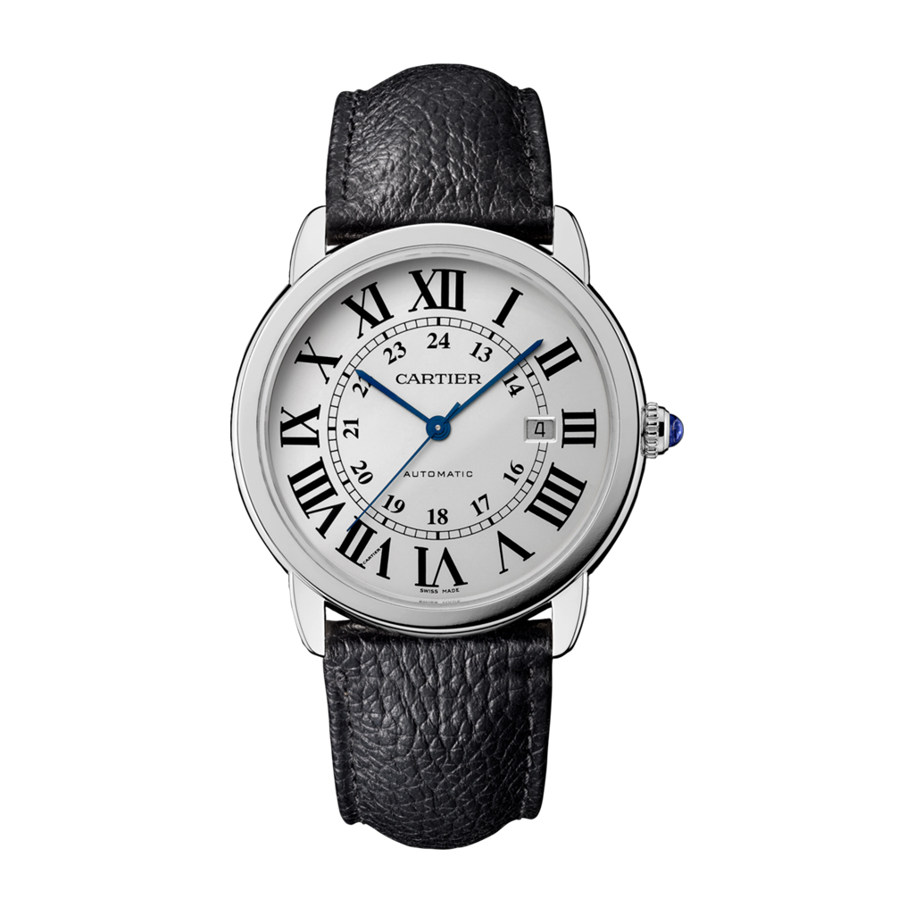 Ronde Solo de Cartier in Steel – 42mm – Men's Watch – WSRN0022
