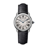 Ronde Solo de Cartier in Steel - 29mm - Ladies Watch - WSRN0019