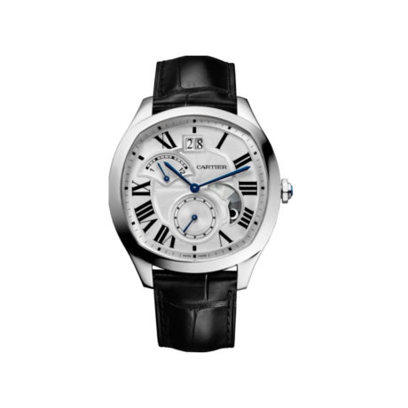 wsnm0005 Cartier Drive Steel GMT DRIVE DE CARTIER WATCH, LARGE DATE, RETROGRADE SECOND TIME ZONE AND DAY:NIGHT INDICATOR Marshall Pierce Chicago