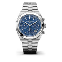 5500V-110A-B148 Vacheron Constantin Overseas Chronograph Blue Dial Marshall Pierce & Company Chicago