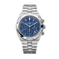 5500V:110A-B148 Vacheron Constantin Overseas Chronograph Blue Dial Marshall Pierce & Company Chicago