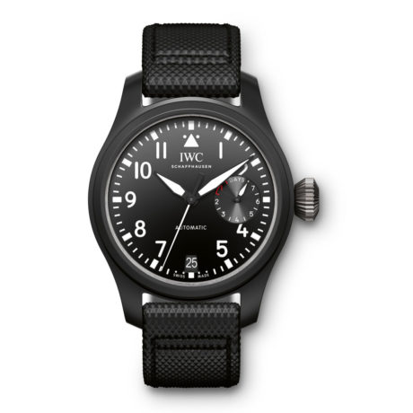 IW502001 IWC Big Pilot's Watch in Ceramic 7 Day Marshall Pierce & Company Chicago