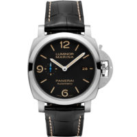 LUMINOR MARINA - 44MM PAM01312 Panerai Watch Marshall Pierce & Company Chicago Dial Strap