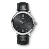 iw356517 IWC Portofino Automatic Black Dial Marshall Pierce & Company Chicago