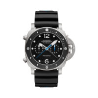 Panerai Luminor Submersible 1950 3 Days Automatic Flyback Chronograph Titanium - PAM00615