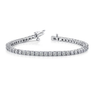 5.00 Carat Diamond Tennis Bracelet