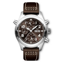 "PILOT'S WATCH DOUBLE CHRONOGRAPH EDITION ""ANTOINE DE SAINT EXUPÉRY"" 2 IW371808"