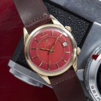 Jaeger_LeCoultre_Memovox_Solid_Gold_Red_Dial_AS02301_1 analog shift marshall pierce vintage timepieces chicago