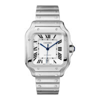 Santos de Cartier in Steel – Large Model – Men's Watch – WSSA0009 Marshall Pierce & Company Chicago