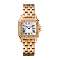 PANTHÈRE DE CARTIER WATCH MEDIUM MODEL, PINK GOLD, DIAMONDS REF- WJPN0009 Marshall Pierce & Company Chicago Authorized Dealer