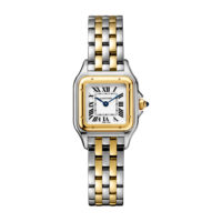 Panthère de Cartier in Yellow Gold & Steel – Smalll Model – Ladies Watch – W2PN0006