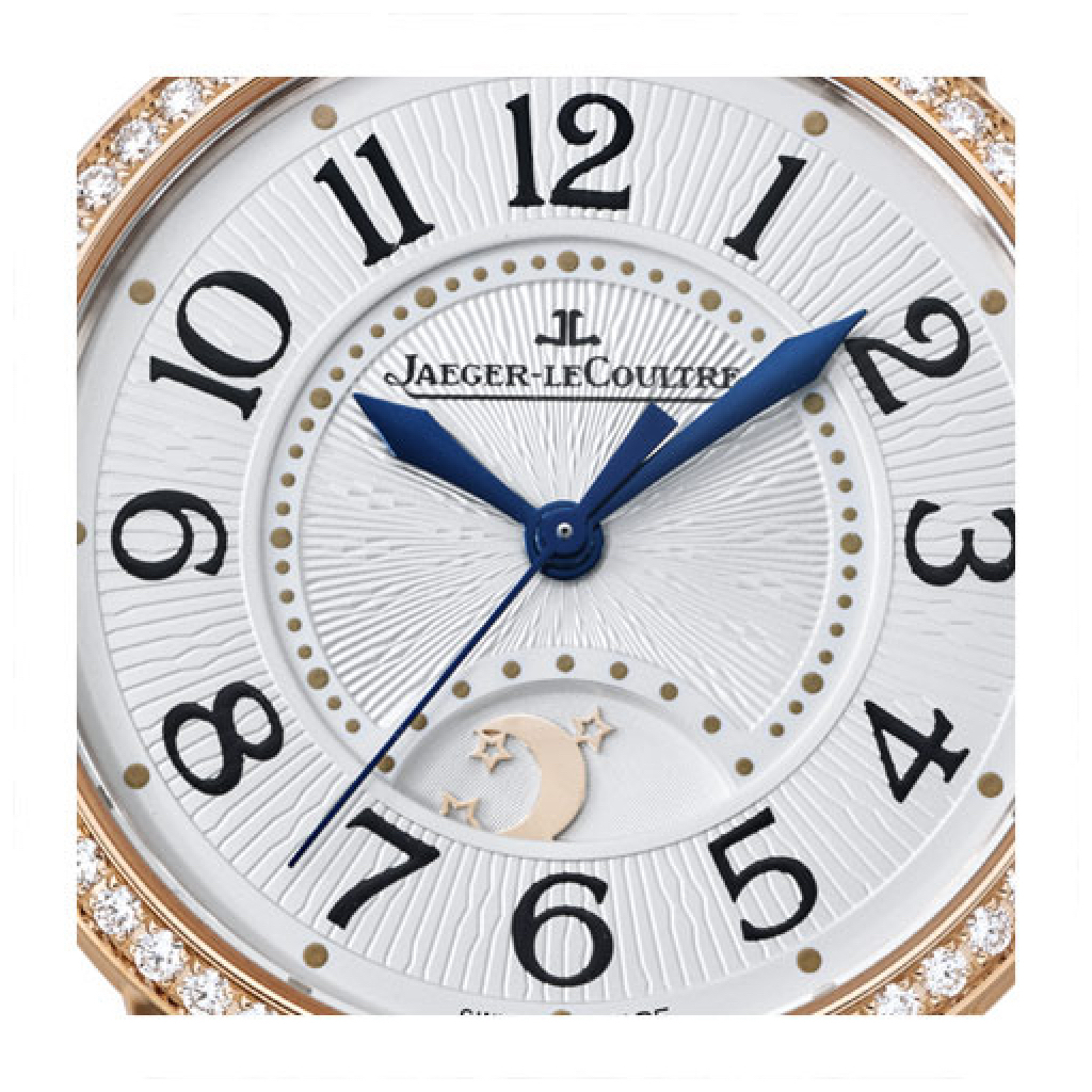 Rendez-Vous Night & Day PINK GOLD REF. 3442420 Dial zoom jaeger le coultre Marshall Pierce & Company chicago authorized dealer