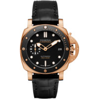 SUBMERSIBLE - 42MM PAM00974 Panerai Watch Rose Gold Marshall Pierce & Company Chicago Dial