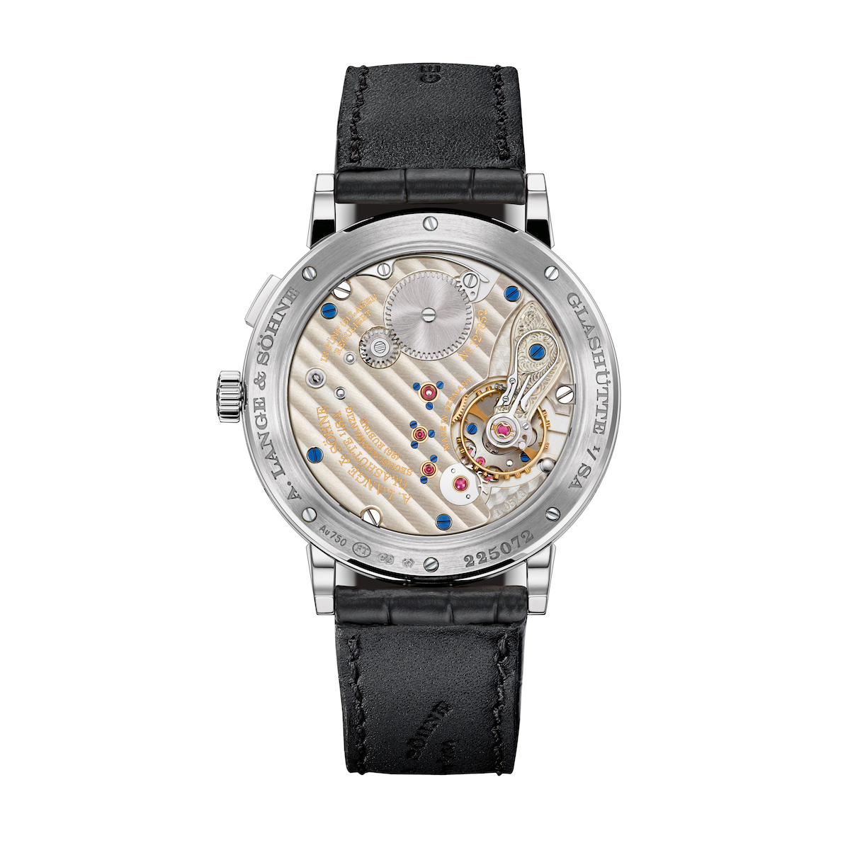 A. Lange Sohne 238.026 1815 Annual Calendar Mens Watch in white Gold case back