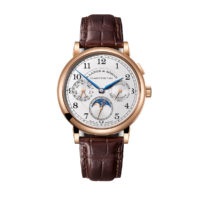 A. Lange Sohne 238.032 1815 Annual Calendar Mens Watch in Pink Gold