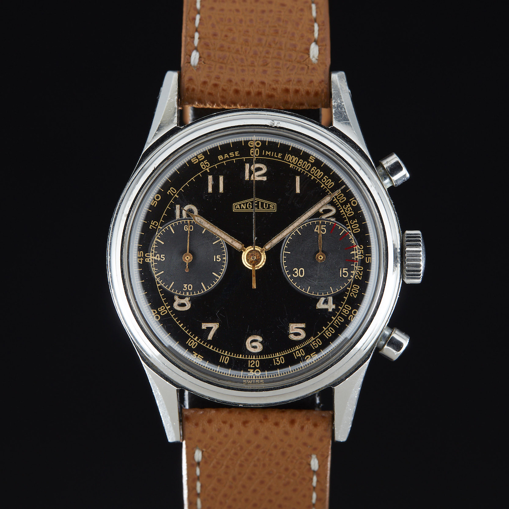 Angelus_Two_Register_Chronograph_Gilt_AS02201_2 Vintage Watches Chicago Marshall Pierce Analog Shift