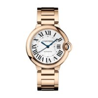 Ballon Bleu de Cartier in Pink Gold - 36mm - Ladies Watch - WGBB0008