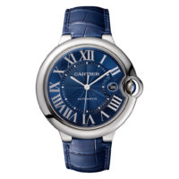 Ballon Bleu de Cartier in Steel - 42mm - Men's Watch - WSBB0025 - Marshall Pierce Chicago Blue Dial