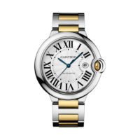Ballon Bleu de Cartier in Steel & Yellow Gold - 42mm - Men's Watch - W2BB0022