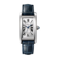Cartier Tank Américaine in Steel - Medium Model - Ladies Watch - WSTA0017