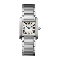 Cartier Tank Francaise in Steel - Medium Model - Ladies Watch - WSTA0005