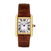 Cartier Tank Louis in Yellow Gold - Small Model - Ladies Watch - W1529856