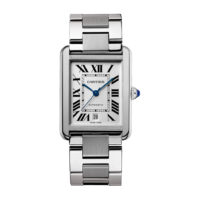 Cartier Tank Solo in Steel - XL Model - Men's Watch - W5200028