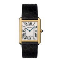 Cartier Tank Solo in Yellow Gold - Large Model - Men's Watch - W5200004