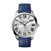 Drive de Cartier in Steel Extra-Flat in Steel - Men's Watch - WSNM0011